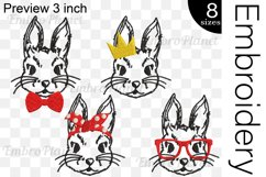 Bunnies - Embroidery Files - 1472e Product Image 2