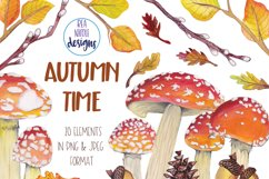 Autumn Time Clipart Product Image 4