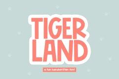 Tigerland - A Fun Handwritten Font Product Image 1