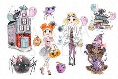 School Halloween Clipart Product Image 3