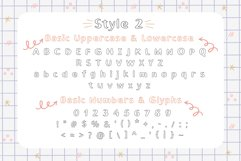 School Blots Font Product Image 3