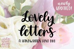 8 Hand Lettered Fonts Bundle, Script Monoline Skinny Sans Product Image 8