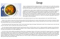 Cream Soup | Sauce Made Font Product Image 4