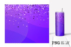 Skinny tumbler sublimation Valentines ombre design 20oz Product Image 6