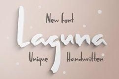 Web Font Laguna - Unique Handwritten Font Product Image 1