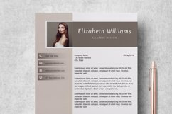 Resume Template   CV Cover Letter - Elizabeth Williams Product Image 5