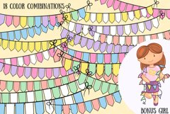 Bunting Banners Clip Art Collection Product Image 3
