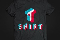Anaglyph Isometric SVG Color Font Product Image 2