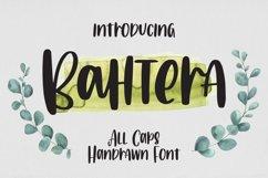 Bahtera - All Caps Handrawn Font Product Image 1