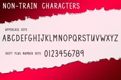 Christmas Train - A Fun Holiday Font Product Image 4