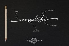 Rossellia - Modern Signature Typeface Product Image 5