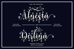 Blossom - 4 Type Star Script Font Product Image 5