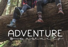 Going Camping - A Handwritten Font Product Image 2