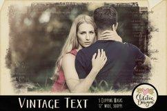 Grunge Clipping Masks - Vintage Text Photoshop Masks & Tutor Product Image 3