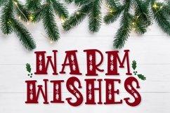 VIXEN - A festive Christmas font! Product Image 2