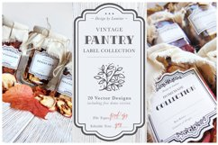 Vintage Pantry Label Collection Product Image 1