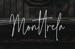 Monttrela Handwritten Font Product Image 1