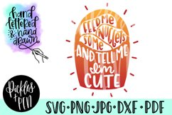 kids nuggets svg - feed me nuggets and tell me im cute Product Image 1