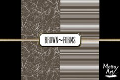 Brown Forms - 10 Digital Papers/Backgrounds Product Image 4