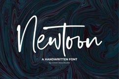 Newtoon - Handwritten Font Product Image 1