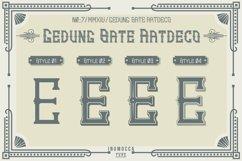 Artdeco family font Product Image 3