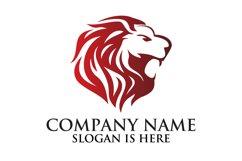 Lion logo design template ,Elegant lion head logo Product Image 3