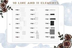 Procreate Brush Stamp Trendy Planner-Planner Procreate Brush Product Image 6