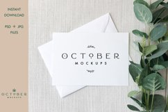 Bundle Mockup Card and Envelope in PSD and JPG | Card mockup Product Image 7