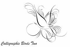 Calligraphic Birds Two Product Image 1