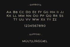Darbots - Modern Stencil Sans Serif Product Image 3
