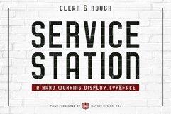 Service Station | Vintage Farmers Market Font Product Image 2