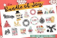 Bundle Of Joy - Christmas SVG Bundle  Product Image 1