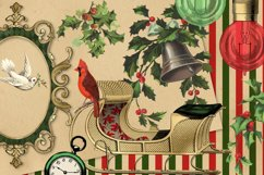 Christmas Alice In Wonderland Clipart Product Image 4