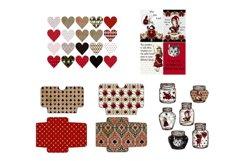 Alice in Wonderland Journal or Scrapbook Kit PDF Product Image 2