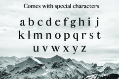 ALISTAIR FONT, A modern Serif Product Image 4