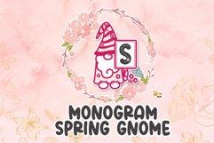 Spring Gnome Monogram Font Product Image 1