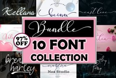 Bundle 10 Font Collection Product Image 1