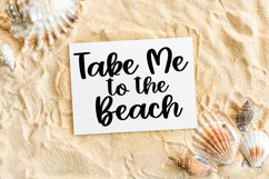 Summer Rainbows - A Hand-Lettered Script Font Product Image 4