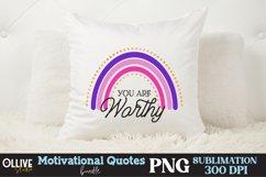 Motivational Quotes Sublimation Bundle, Motivational PNG Product Image 4