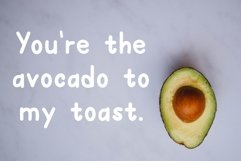 Avocado Toast A Hand-Lettered Breakfast Font Product Image 4