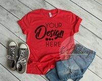 Bella Canvas Mockup Bundle T Shirt Flat Lay Bundle 5 images Product Image 3