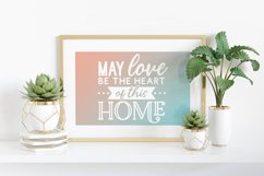 Family Quotes Farmhouse Family Sign svg bundle dxf png eps Product Image 4