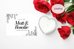 """7"""" x 5"""" Card Mockup / Invitation Card / Save the date Card Product Image 2"""