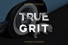 Gent. Display brushed typeface. Striking and modern. Product Image 3