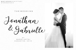 Martinesse - Script Font Product Image 2