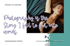 Web font - Emerald Cole - Modern Calligraphy Font Product Image 5