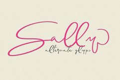 Solitaire Font Product Image 4