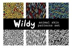WILDY   animal skin patterns set Product Image 3