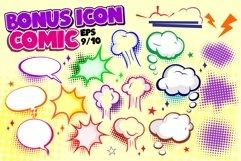 Jazking A Comic Typeface Bonus Icon Product Image 6