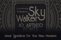 Skywalker - ArtDeco Typeface Product Image 4